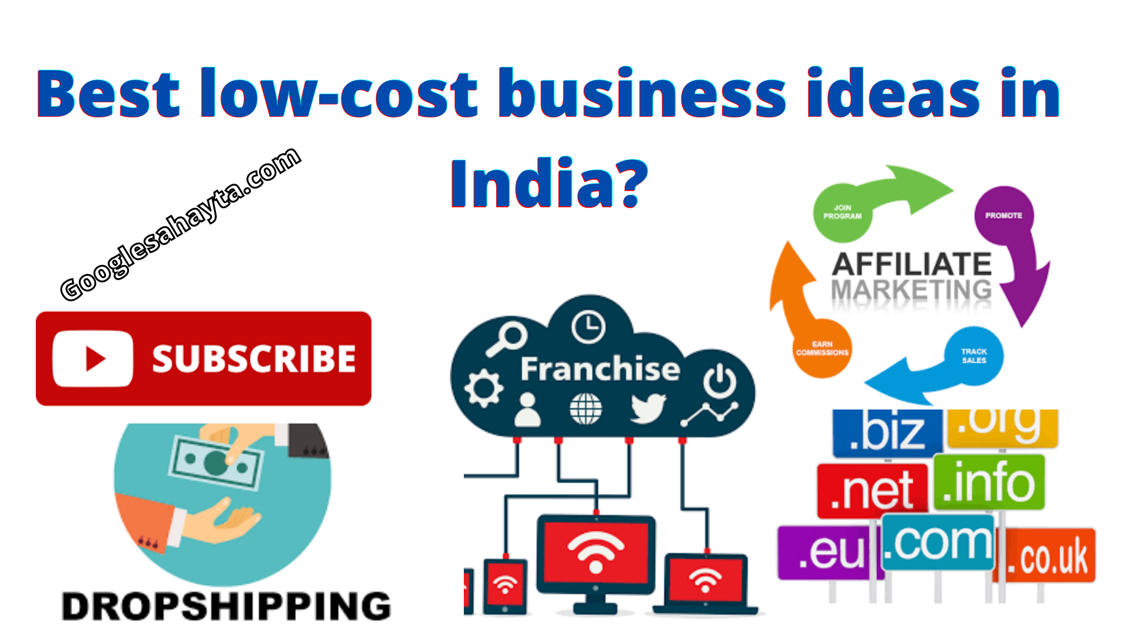 low-cost business ideas